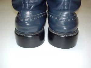 ブーツ・紺(紳士)アフター